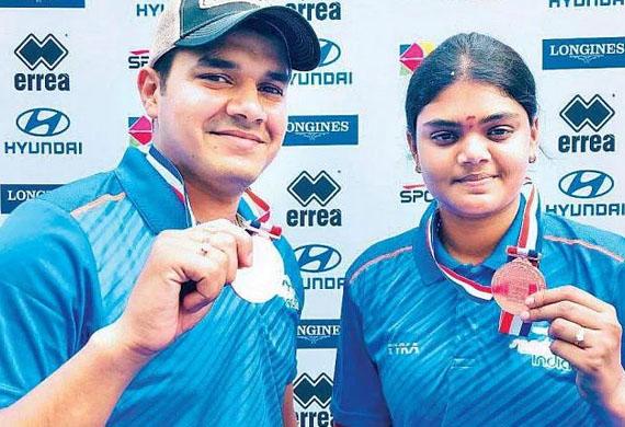 Indian Women's Compound Archery Team advances to the Finals