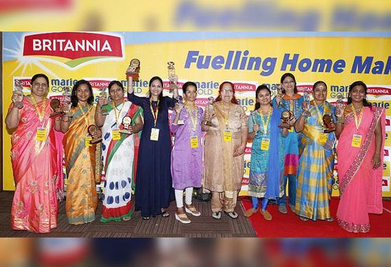 Britannia Marie Gold's My Startup campaign3.0  to help Homemakers establish their Enterprises