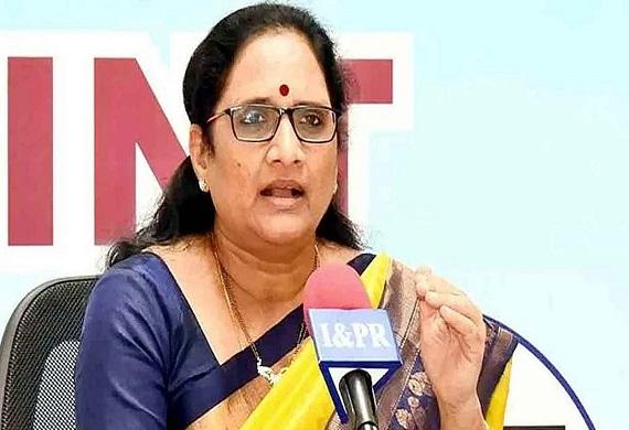 Vasireddy Padma Calls a Speedy Investigation in Crimes against Women