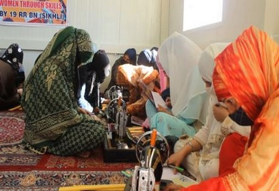 Indian Army organises free tailoring courses for women in J&K