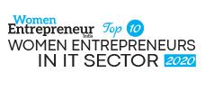 Top 10 Women Entrepreneurs in IT Sector - 2020