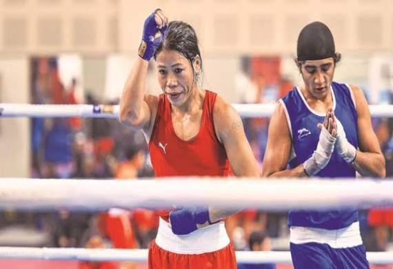 Mary Kom & Two Other Olympic-bound Women Boxers to Practise at ASI Pune For Olympics