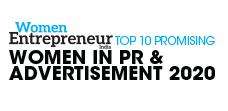 Top 10 Promising Women in PR & Advertisement - 2020